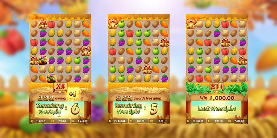 เกมสล็อตแตกง่าย Groundhog Harvest 2