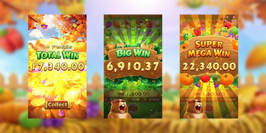 เกมสล็อตแตกง่าย Groundhog Harvest