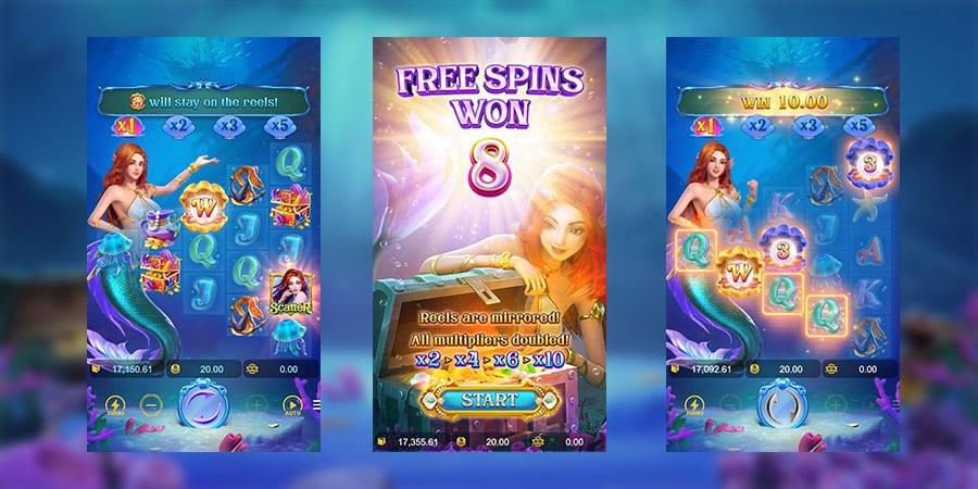 เกมสล็อตแตกง่าย Mermaid Riches 1