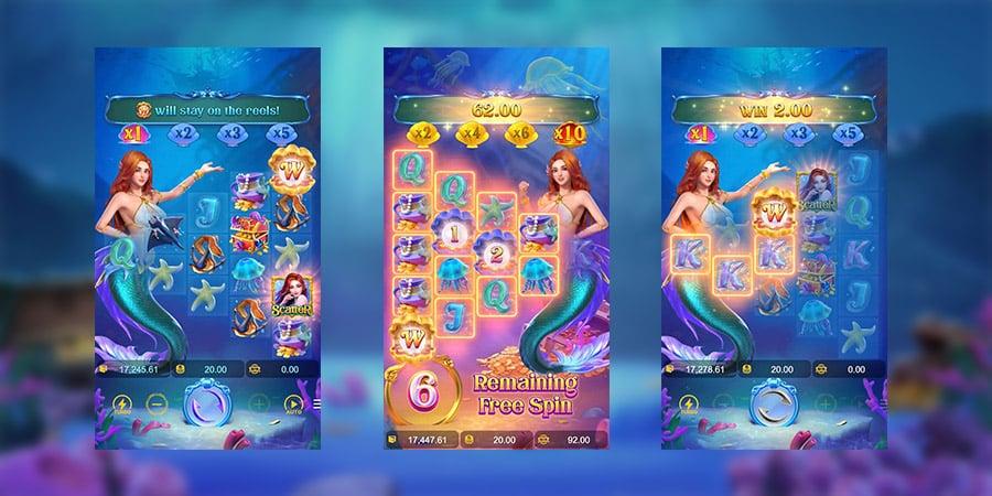 เกมสล็อตแตกง่าย Mermaid Riches 2