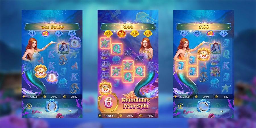 เกมสล็อตแตกง่าย Mermaid Riches 3