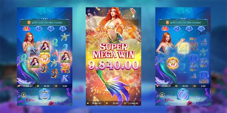เกมสล็อตแตกง่าย Mermaid Riches