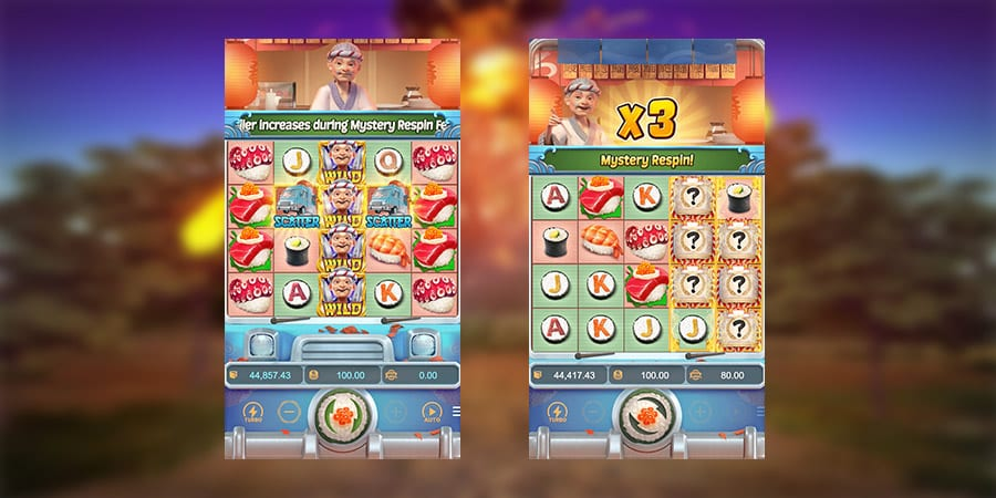 เกมสล็อตแตกง่าย Sushi Oishi 3