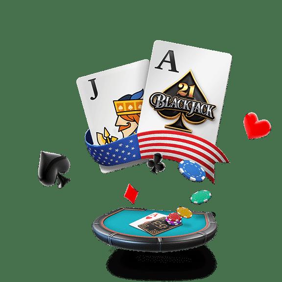 banner american blackjack