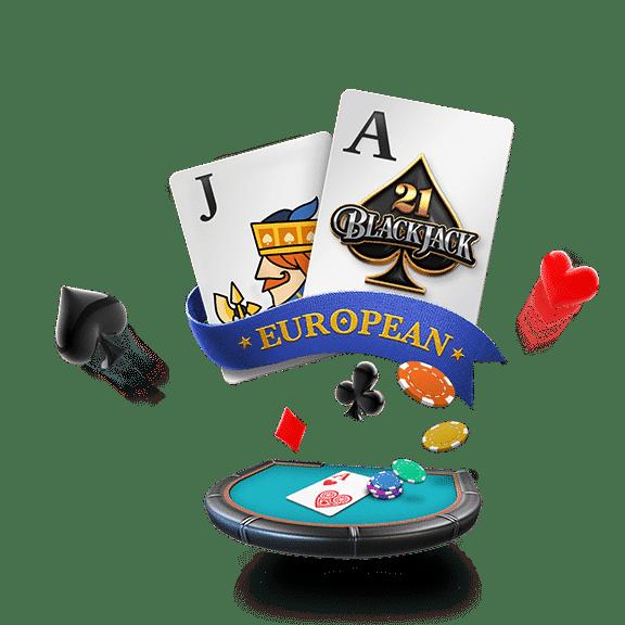 banner european blackjack