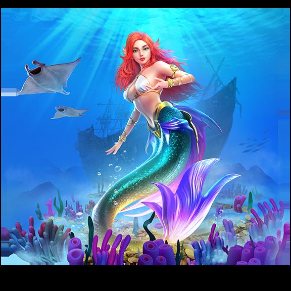 banner mermaid riches
