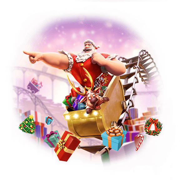 banner santas gift rush