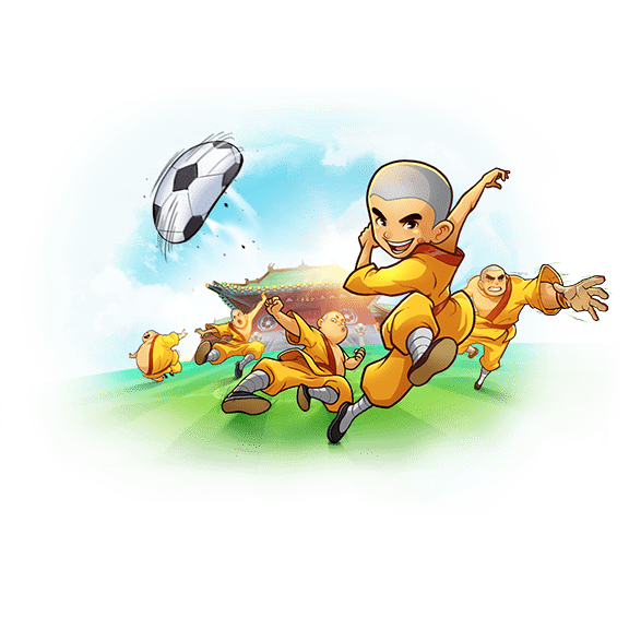 banner shaolin soccer
